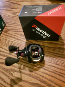 Piscifun Torrent 7.5:1 Baitcasting Reel