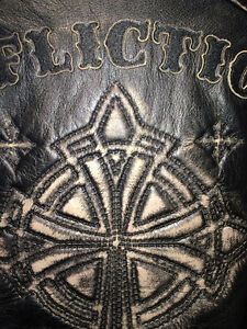 AFFLICTION LEATHER JACKET XL Gatineau Ottawa / Gatineau Area image 7