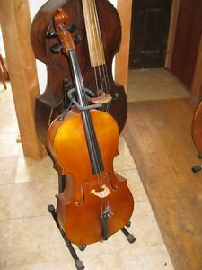 German Cello - 1/2 with bow & case