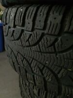 "Pirelli 16"" Winter tire and rims"