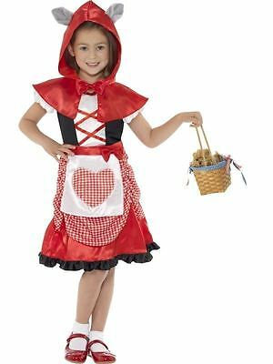 Little Red Riding Hood, Miss Hood Kostüm, Faschingskostüm, Alter 6-8 ()