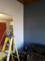 Painting services available with prompt estimates