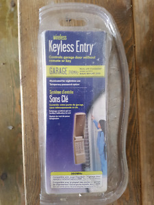 Garage Door Wireless Keyless Entry Pad