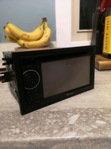 Pioneer touch screen Double din