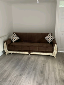 🎗🎗Top Quality Brand New Sultan Turkish Sofa Bed With Storage