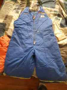 Large insulated overalls