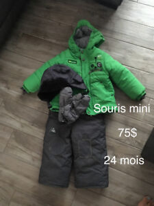 Habits de neige garçon