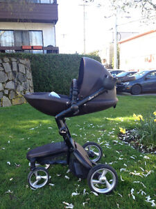 Mima Xari Stroller with accessories (Chocolate Brown colour)