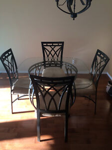5-Piece Dining Table and Chairs