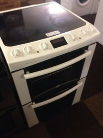 ZANUSSI FAN ASSISTED DOUBLE OVEN ELECTRIC COOKER0013