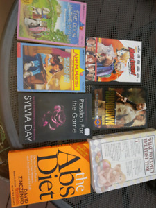 Books and 2 movies