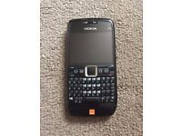 Nokia E71 orange network
