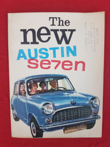 EARLY AUSTIN SEVEN MINI Original Dealer Sales Brochure GER