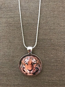 Tiger Cat Necklace