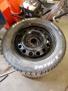 Set winter tire