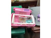 Cabbage Patch Kids LOVE N GO Baby Nursery Carrying Play Set