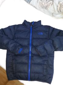 Boys North Face Padded Jacket (M)
