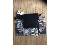 PS3 500GB + 8 GAMES, GREAT CONDITION