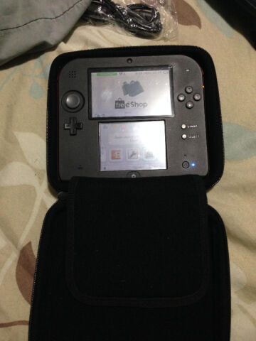 Want to trade [LNIB] B9S modded 2DS+16gb SD card+case+