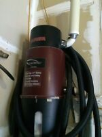 Central Vac System with Power Head