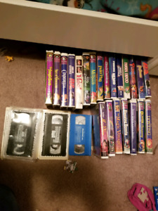 VCR with lots of Disney VHS BEST OFFER