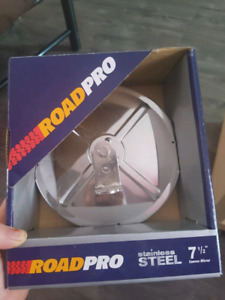 Roadpro stainless steel 7 1/2 convex mirror