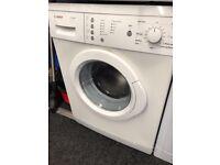 Bosch washing machine 6 month warranty free delivery