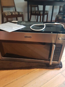 Brand New Maytag Over the Range Microwave