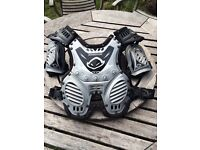 Motocross body armour. Racing protection