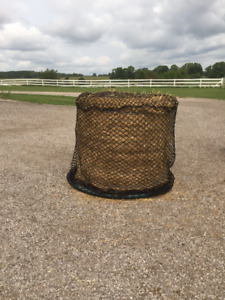 Slow feed Bale Condoms and Nets