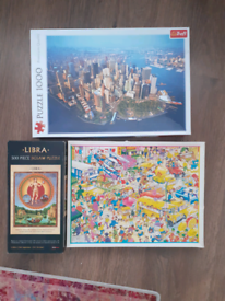 3 jigsaw puzzles