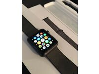 42mm Black Apple Watch with AppleCare!