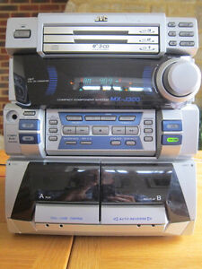 JVC Compact Stereo System Kitchener / Waterloo Kitchener Area image 2