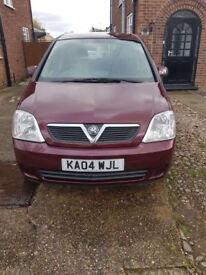 2004 Vauxhall Meriva 1.6 Petrol Semi-Auto ** SPARES OR REPAIRS **