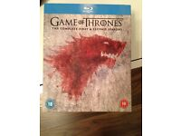 Game of thrones seasons 1&2 on blu-ray