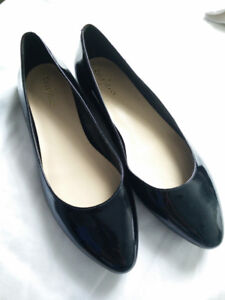 Patent leather Cole Haan flats size 7.5