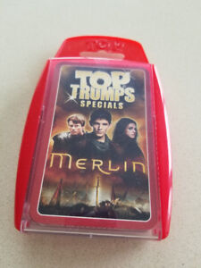 Merlin Top Trumps Card Game