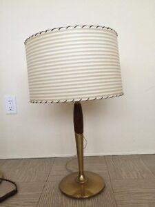 Vintage Lamps set of three
