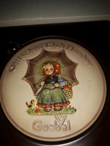 Goebel Hummel Collectors Club Plate 1978