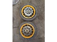 Mini dirt bike wheels