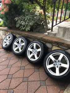 BMW Winter wheels and tires - X1, 320, 328, 330, 335
