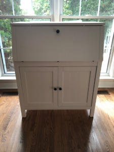 IKEA Hemnes Secretary Desk (White)
