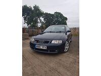 Audi S3 260BHP (MOT MARCH 18) May px £2200