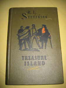 Vintage Treasure Island Russian Publication Hardcover Book