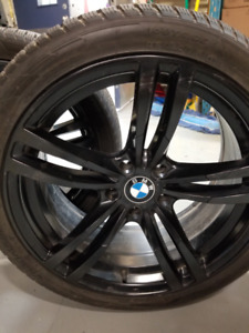 BMW 6 Series Beautiful Rims and Winter Tires