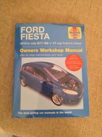 Fiesta Haynes Manual