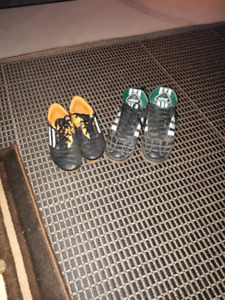 Adidas Soccer shoes (2 pairs OBO)