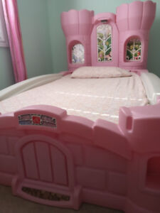 Immaculate Princess Bed for the girls room