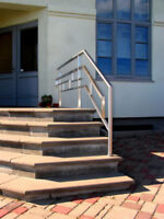 Custom fabrication and welding. Stairs, railings, gates,fences.