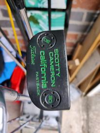 Customized Scotty Cameron California Fastback putter
